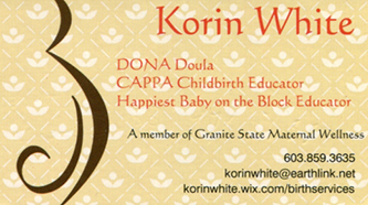 in good hands recommends doula korin white
